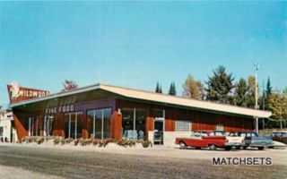 HERMANSVILLE, MICHIGAN Wildwood Truck Stop Automobile POSTCARD