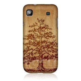 Head Case Tree Wood Art Design Glossy Back Case For