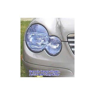 Mercedes Benz C230 fog light cover film HID blue tinted 2004 Mercedes