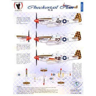P 51 Checkertail Clan #3 325th Fighter Group (1/48 decals