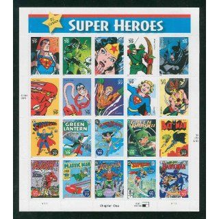 DC COMICS Super Heroes Batman Superman MNH Stamps 4084