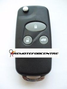 KEY FOB CASE UPGRADE FOR HONDA ACCORD CIVIC HRV CRV S2000 REMOTE KEY