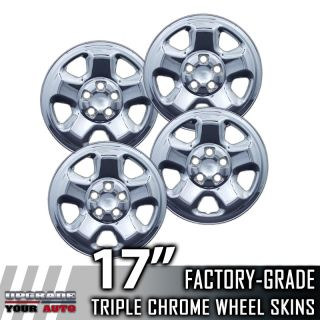 2006 2012 Honda Ridgeline 17 Chrome Wheel Skins Covers