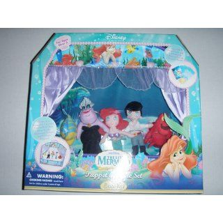 Disney Princess The Little Mermaid Finger Puppet Theater