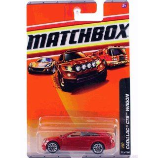 2010 Matchbox car VIP 1/6, CADILLAC CTS WAGON #31   Red