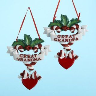 Club Pack of 12 Great Grandma & Grandpa Christmas