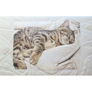 Happy Birthday Greeting Bengal Cat Baby Made in USA