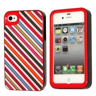 Kate Spade Twill Striped Hardshell Case Cover For iPhone 4