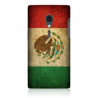 Head Case Mexico Mexican Flag Matt Snap on Case For Sony