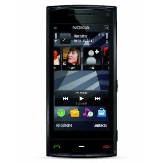Nokia X6 Unlocked GSM Phone with 5 MP Camera, Capacitive