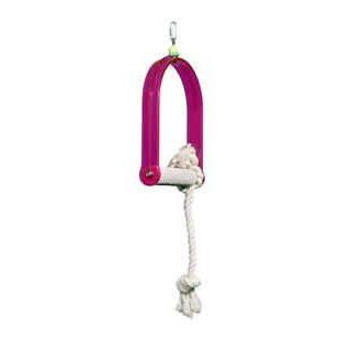 Pollys Pet Products Arch Bird Swing Size Small 1 x 6in