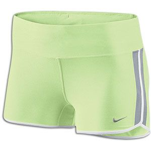 Nike 2 Boy Short   Womens   Running   Clothing   Barely Volt/Wolf