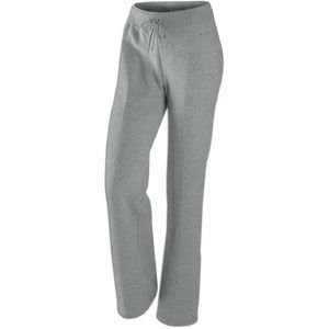 Nike Classic Fleece Swoosh Open Hem Pant   Womens   Casual   Clothing