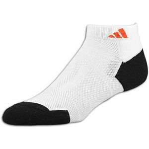 adidas Climacool II Low Cut 2 Pack Socks   Mens   White/Black/High