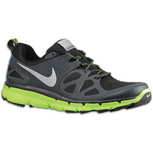 Nike Flex Trail Shield   Mens   Running   Shoes   Black/Anthracite