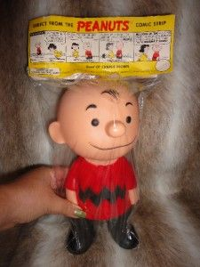 Peanuts Snoopy 1955  Charlie Brown Hungerford Vinyl Doll RARE