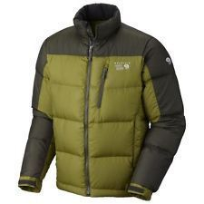 NEW Mountain Hardwear Men Large Hunker Down 650 Fill Winter Jacket Elm