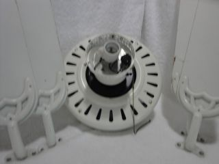 Hunter Fan Company 120V White Ceiling Fan Fixture with 4 White Blades