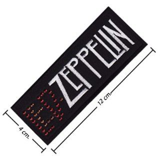 Led Zeppelin Patch Music Band Logo I Embroidered Iron on