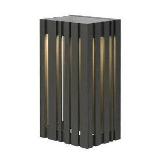 LBL Lighting LW642BLLEDW Uptown   LED Small Outdoor Wall Mount, Black