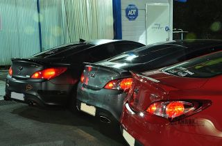 Hyundai Genesis Coupe Rear Spoiler New Original Type