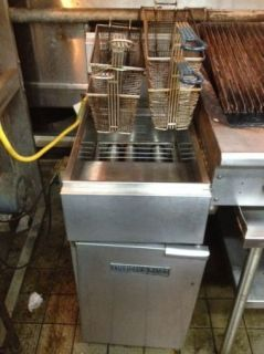 American Range Gas Deep Fryer with 4 Baskets