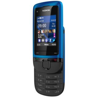 Brand New Nokia C2 05 Peacock Blue Unlocked Cellular Phone