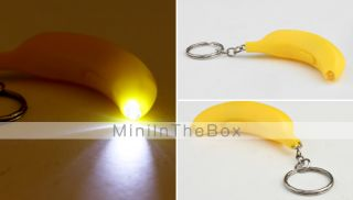 USD $ 1.39   Cute Banana Shape LED Light (Color Assorted),