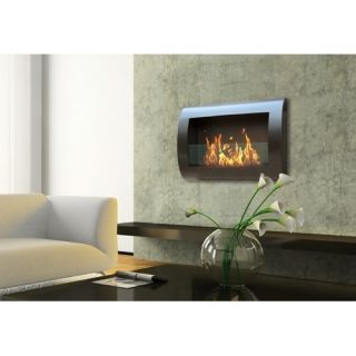 Anywhere Fireplaces Chelsea Indoor Wall Mount Fireplace