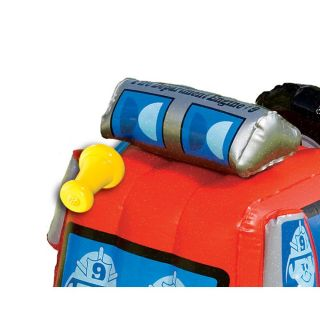Fisher Price Inflatable Fire Engine Truck Outdoor Toy