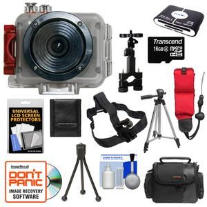 Intova Sport Pro Waterproof HD Sports Video Camera Camcorder with