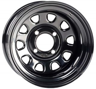 ITP Steel Golf Cart 4 Wheels Rim Black 12x7 4 4 2 5 D12R540 EZ Go Club