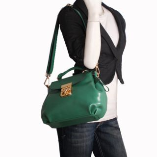 Genuine Italian Leather Green Handbags, Purse, Hobo Bag, Satchel, Tote