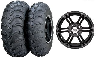 800 RZR s XP 800 900 ITP SS212 Wheels 25 Mud Lite Tires Kit