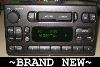Jaguar s Type Cassette Player Radio 2000 2001 2002 2003 CD Controls