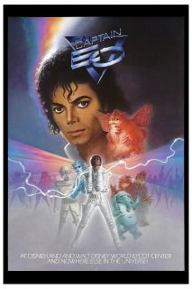 Michael Jackson Captain EO Movie Poster Circa 1986