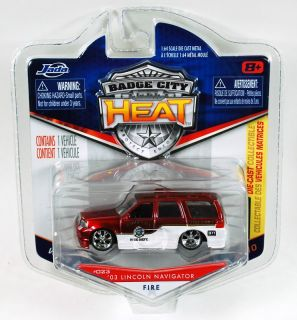 Jada Badge City Heat 03 Lincoln Navigator Fire 023