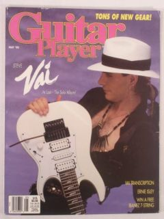Steve Vai Guitar Player Mag May 1990 James Blood Ulmer