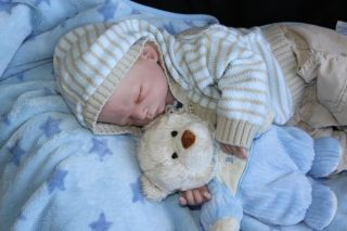 Moments Nursery~Adorable Reborn Preemie Baby Boy~James~ Adorable~OOAK