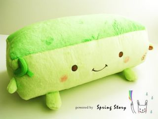 Sale《Hannari》Trinity Tofu Plush Massage Pillow Cushion