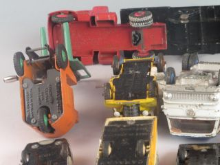 Lot 13 Vintage Dinky Toys Vehicles Trucks Cars Military More
