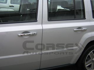 2007 2011 Jeep Patriot Chrome Door Handle Mirror Cover