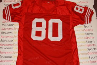 Jerry Rice Autographed San Francisco 49ers Custom Jersey HOF   Jerry
