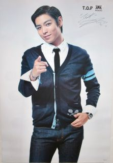 Big Bang Top Pointing Poster Korean K Pop Music