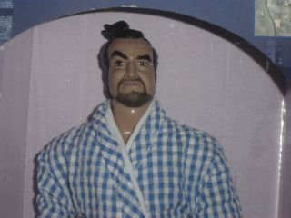 JOHN BELUSHI as SAMURAI ACTION FIGURE DOLL Saturday Night Live SNL 25