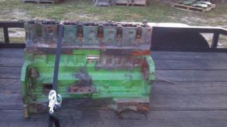 John Deere 466 Engine Block and Head 4840 Tractor Pulling