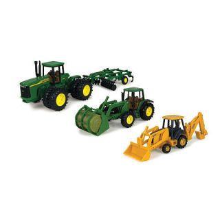 John Deere Toy Replica Vehicle Value Set