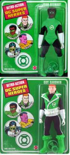 John Stewart Guy Gardner Lot Green Lantern Retro Action DC Super Heroes Figure