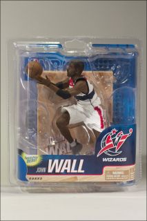 MCFARLANE NBA SERIES 20 JOHN WALL ROOKIE FIGURE WHITE JERSEY WASHINGTON WIZARDS