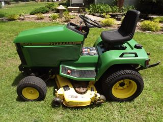 John Deere 425 Garden Tractor with Mower Deck and 3 Point Hitch